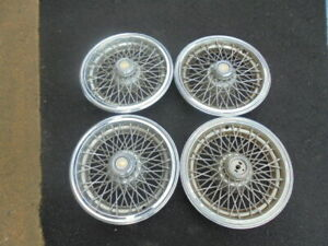 15 1993 94 95 96 Chevrolet Caprice Wire Type Hubcaps Wheel Covers
