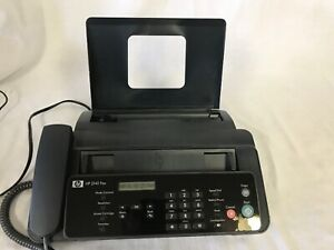 Hp 2140 Fax Machine W copy Function Handset Cm721
