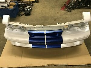 87 93 Ford Mustang Gt Front Bumper Cover W Cobra Insert Factory Header Panel Oe