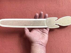 Antique Mughal Indian Carved Letter Opener 1875 Stunning Museum Quality