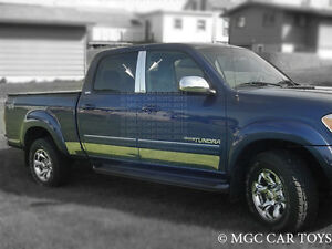 2000 2006 Toyota Tundra Double Cab Stainless Steel Rocker Panel Fl 6 10pc