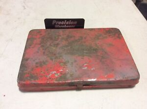 Snap on Tools Vintage Red Metal Box Kra275 W puller