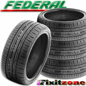 4 New Federal 595 Rpm 215 45r17 91y Ultra High Performance Uhp Summer Tires