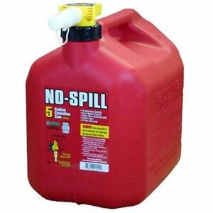 No spill 1450 5 gallon Poly Gas Can carb Compliant Lawn And Garden Tool Cans