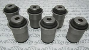 1963 1965 Buick Riviera Rear Axle Control Arm Bushings Complete Set Of 6
