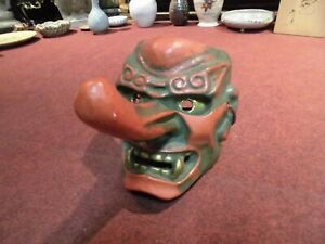 Tengu Noh Mask Not Wood Check Out The Video