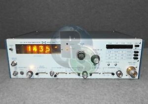 Pm Pacific Measurements Inc 1018a Log Lin Rf Peak Power Meter Option 02 04