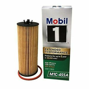 New Lot Of 10 mobil 1 M1c 455a Extended Performance High Efficiency Oil Filter