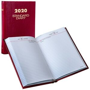 2020 At a glance Standard Diary Sd389 Daily Reminder 5 75 X 8 25