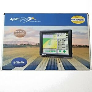 Trimble Fmx Integrated Display Dgps Pack Ag25 Gps Receiver Cables new In Box