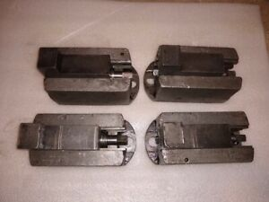 Set Of 4 Cushman 6 Face Plate Chuck Jaws Lathe Vertical Boring Mill Table Clamp