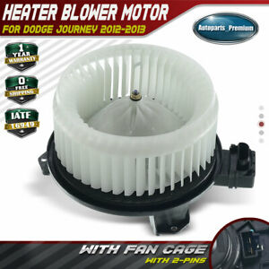 New Hvac Blower Motor W Fan Cage For 2012 2013 Dodge Journey 5191743ab 700305