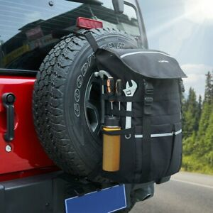 2x Roll Bar Storage Bag With Multi pockets For Jeep Wrangler Jk 2007 2018 4 door