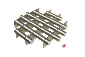 Industrial 12 Round Magnetic Hopper Grate With Rare Earth Magnets R12 1000x