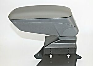Armrest Centreconsole Universal Grey Eco Leatehr Arm Rest Fit Ford Fiesta New