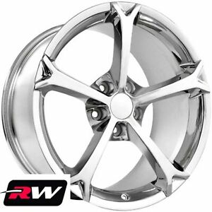 17 18 Inch Wheels For Chevy Camaro 1993 2002 C6 Grand Sport Chrome Rims