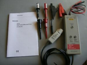 Tektronix P5210 High Voltage Differential Probe tested