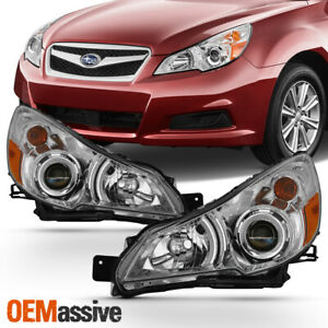 Fit 2010 2014 Subaru Legacy Outback Headlights Lamps Replacement Left right