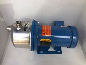 Goulds Water Pump 464237 2 Baldor 1hp 3450 2850 Rpm 82 Max Psi Booster Pump