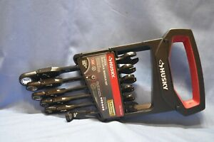 Husky 100 position Flex head Ratcheting Wrench Set Sae 6 piece