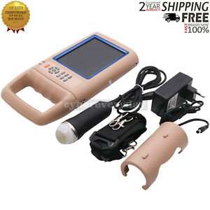 Portable Veterinary Ultrasound Scanner For Small Animals Dog Cat Sheep Gdf a4