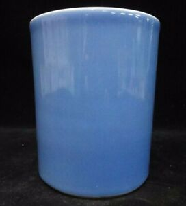 Rare Fine Old Chinese Sky Blue Glaze Porcelain Brush Pot