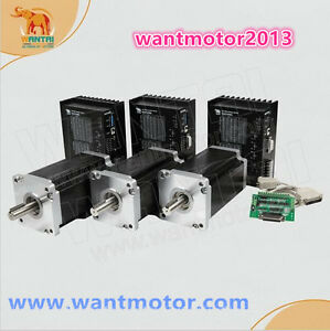 Us Free wantai 3axis Nema42 Stepper Motor 3256oz Cnc Engrave mill Cutiing Router
