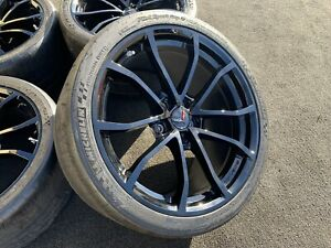 New Chevrolet Corvette Grand Sport Wheels Rims Michelin Cup Tires Oem Genuine