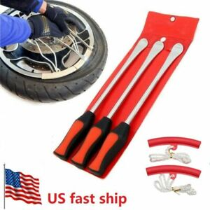 5pack Tire Lever Tool Spoon Motorcycle Tire Change Kit Bicycle Dirt Bike Touring