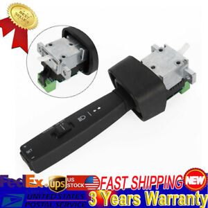 Black Controls Turn Signal Switch Fit For Volvo Vnl Vnm Truck 20399170 20479584