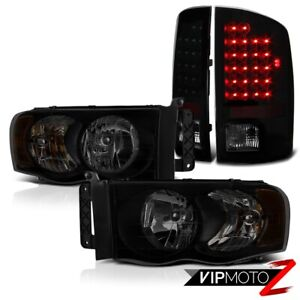 2003 2005 Dodge Ram 2500 4 7l Dark Tinted Headlamps Tail Lights Led Brightest