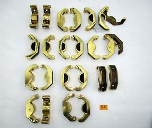 R2 Antique Brass Stair Rod Bracket Price Is Per Pair For 2cm Curved Rods