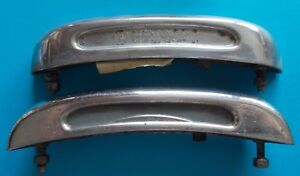 Pair Light Light License Plate Used Lancia Appia 1 Series