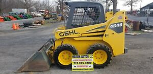 2006 Gehl 4640e Skidloader 770 Hrs Super Clean Gehl Controls