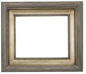 Museum Quality Pewter Wood Frame Size 11x14 Inches