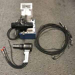 Gage Bilt Electric Portable Pump For Double Acting Cylinders W gbp Huck Gun