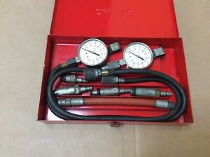 Snap On Tools Compression Tester Set With Metal Box