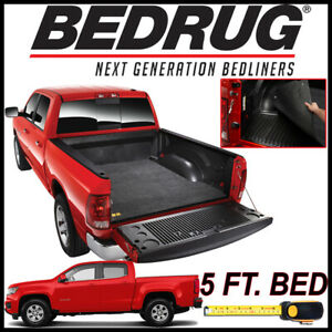 Bedrug Classic Bed Mat Liner For 2015 2019 Chevy Colorado With 5 Ft Bed