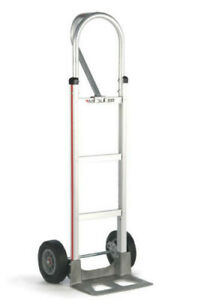 Magliner usa 52 Tall Hand Truck Loop Handle 14 Nose 10 Semi pneumatic Tire