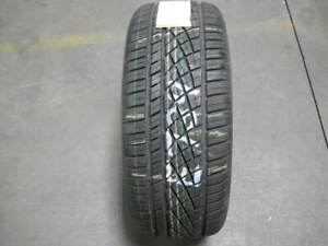 1 Continental Extreme Contact Dws06 Sport Plus 225 50 17 New Tire E734