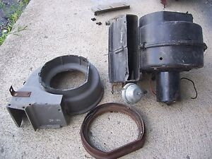 1970 Mercury Cougar A c Fan box duct parts mustang 70 1969 68 67 air Conditioned