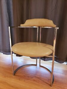 Daystrom Chairs Mid Century Modern Chrome Seating Single Chair 3 Available