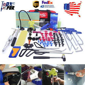 Pdr Rod Auto Body Repair Tools Paintless Dent Puller Lifter Hail Damage Removal