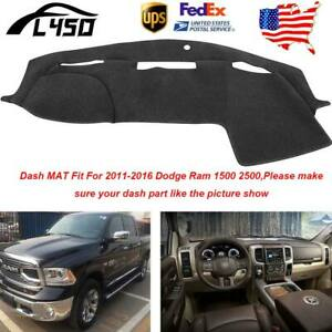 Dashboard Dash Mat Dashmat Sun Cover Pad For Dodge Ram 1500 2500 3500 2011 2016