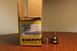 Enerpac Spd 375 High Force Hydraulic Punch And Die Set 3 8