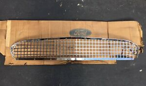 Nos 1955 1956 Ford Thunderbird Grill Grille Assembly New In Box Rare