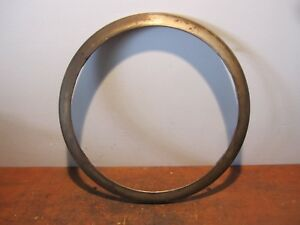Vintage Theo A Kochs Barber Chair Base Ring Bracket Hydraulic Koken