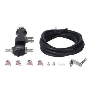 Black Adjustable Manual Car Turbo In Cabin Boost Bleed Valve Control Booster