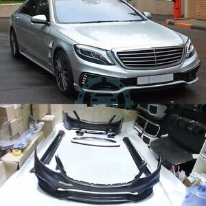 A Set Bodykits Car Body Kit Adapt For Mercedes Benz W222 S Class S550 S63 S400