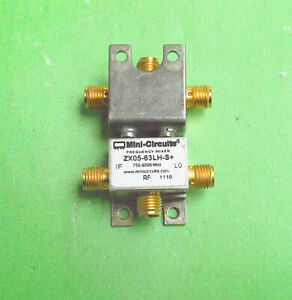 1pc Only Used Good Mini circuits Zx05 63lh s 750 6000mhz Rf Sma Mixer